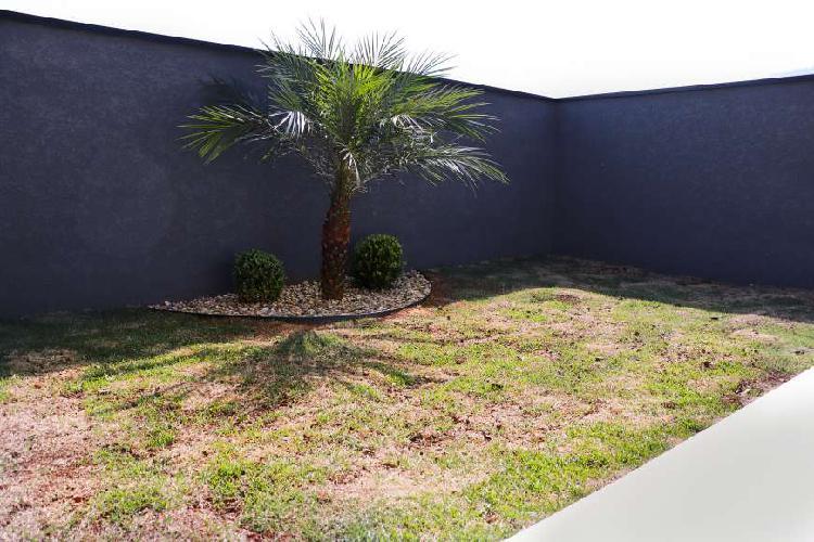 Casa nova com três quartos no Jardim Maristela em Atibaia