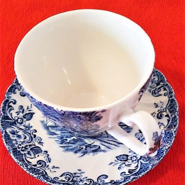 conjunto de 10 xícaras e pratinhos de chá by j.bros