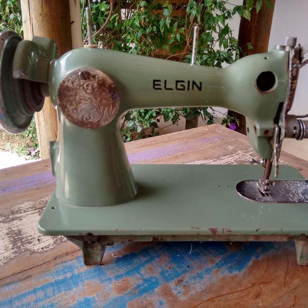 máquina de costura antiga elgin
