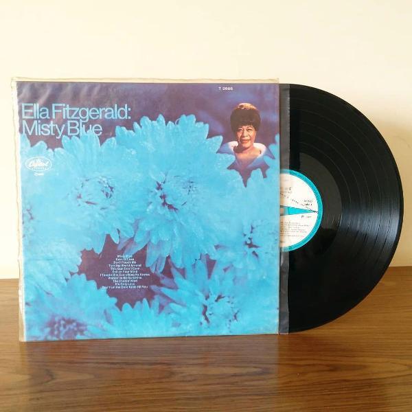 vinil lp ella fitzgerald - misty blue (1968)