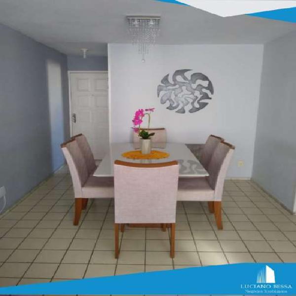 Apartamento 3 quartos sendo 2 suites 98m2, R$ 1.800,00