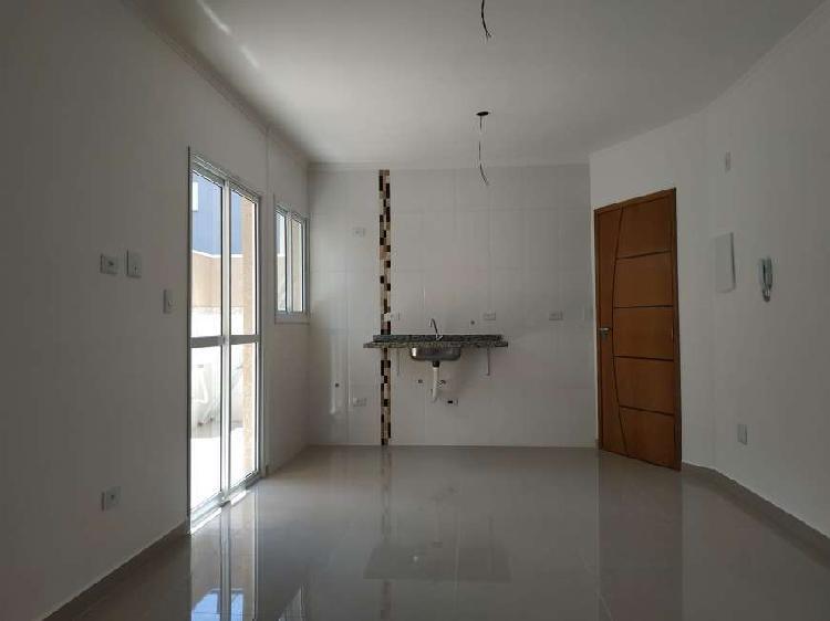 Apartamento sem condomínio com varanda exclusiva, 55 m², 2