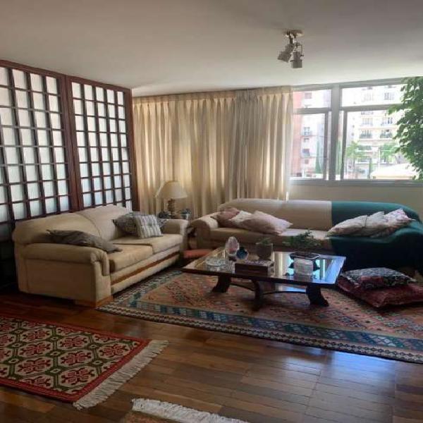 Apartamento à venda com 180m² - Cerqueira César, São