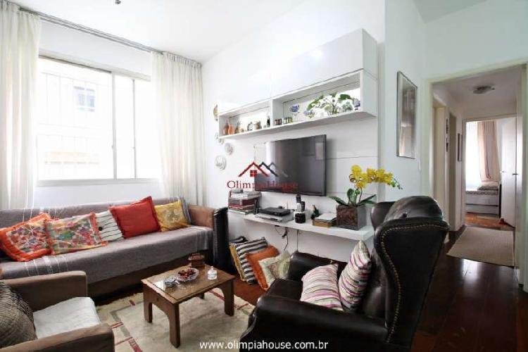 Apartamento à venda com 96m² - Itaim Bibi, São Paulo.