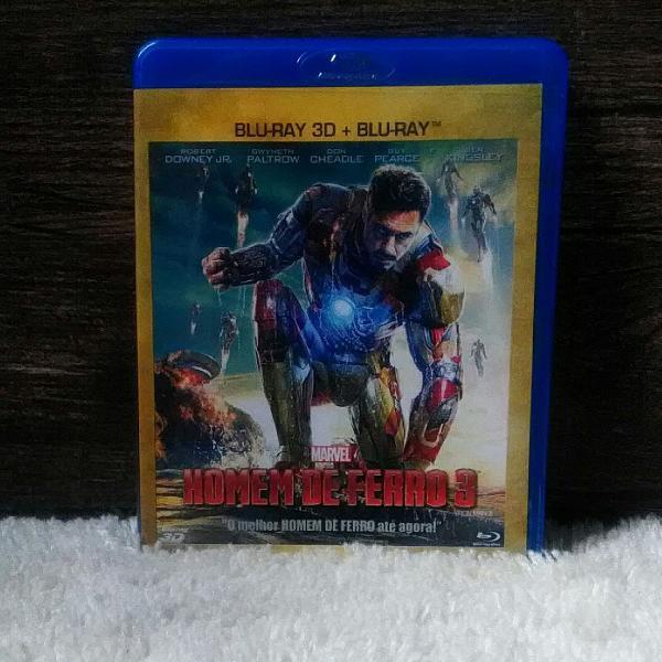 Blu-ray Filme O Homem De Ferro 3 em 3D