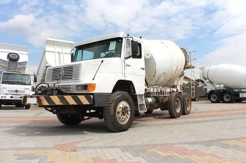 Caminhão Mercedez 2635 Ano 1998 6x4 Betoneira Convicta 8m³