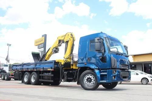 Cargo 2429 6x2 2015 Munck 45 = Muk Muque Manck Manque