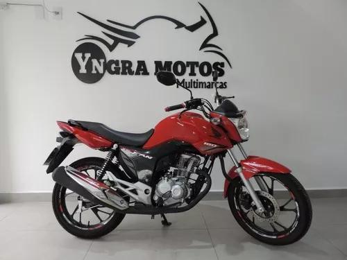 Honda Cg 160 Fan 2019 Km 1089