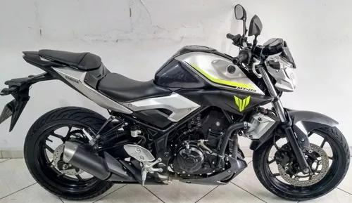 Yamaha Mt 03 Abs 2018 Cinza