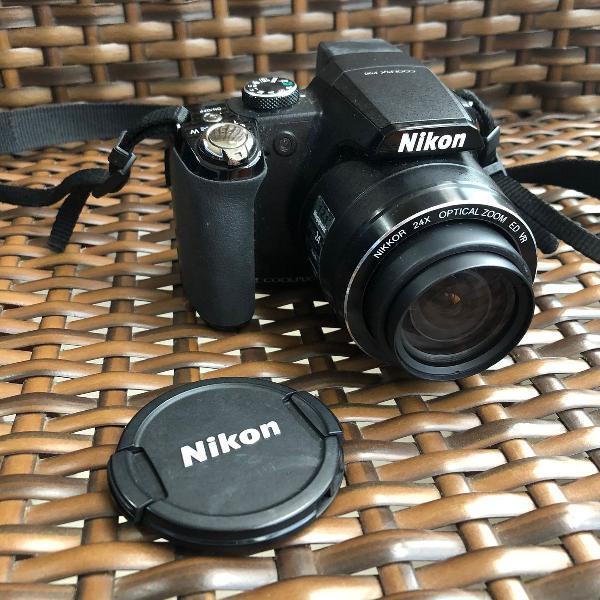 camera fotografica nikon coolpix p90 câmera digital zoom
