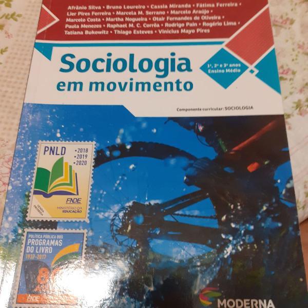 livro sociologia em movimento ensino médio