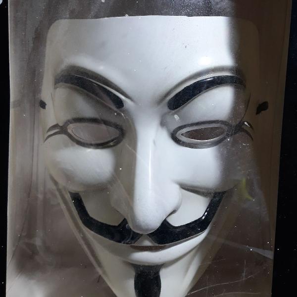máscara guy fawkes v de vingança