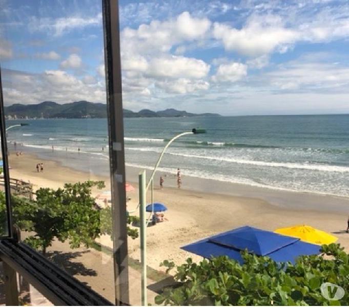 Apartamento de frente para o mar em itapema SC