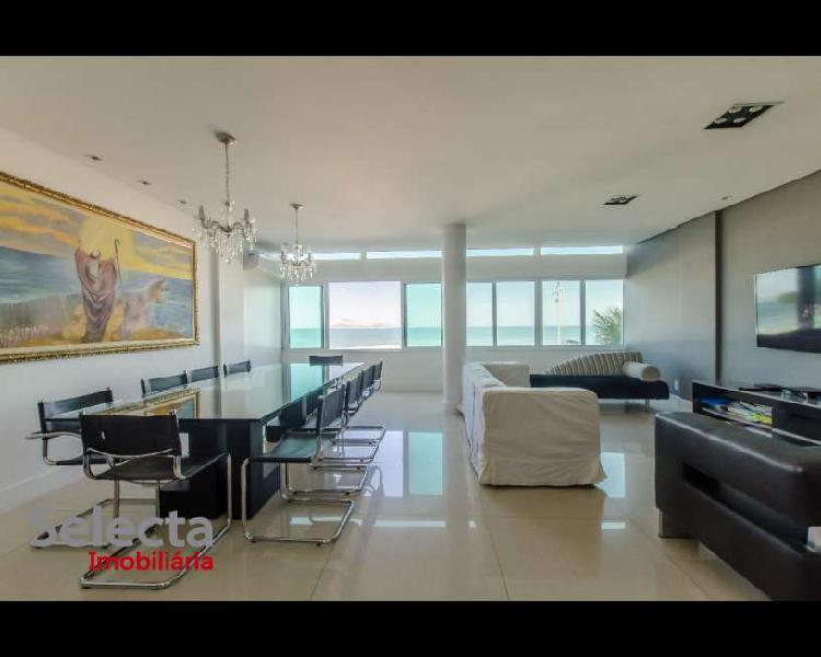 Apartamento belíssimo na Av. Vieira Souto, super moderno,