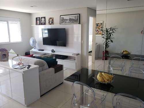 Apartamento à venda com 72m²au, 2 dorms/1 suíte, 1 vaga