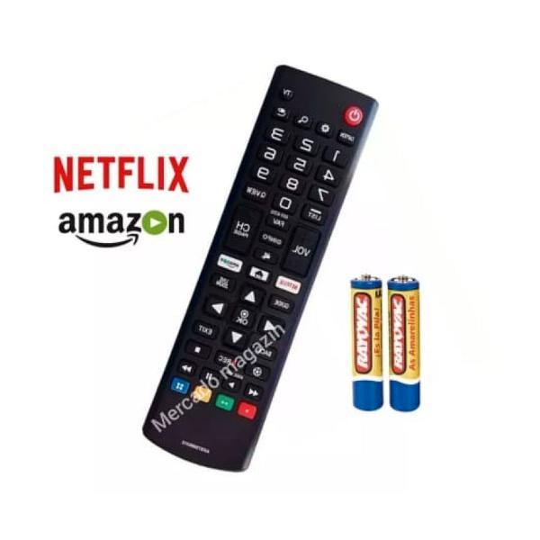 controle LG Smart TV Original Netflix e Amazon Prime Oferta