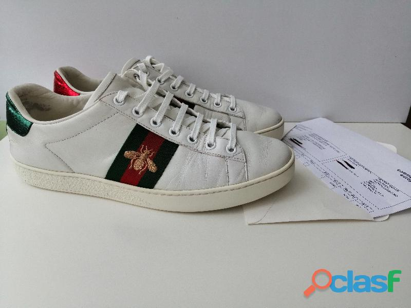 Gucci Ace sapatos 38.5