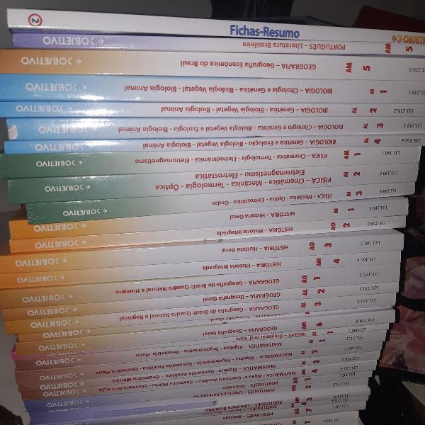 livros pre vestibular 2019 (coleção completa)