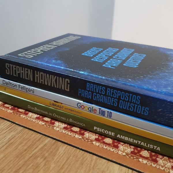 pacote de livros nerd