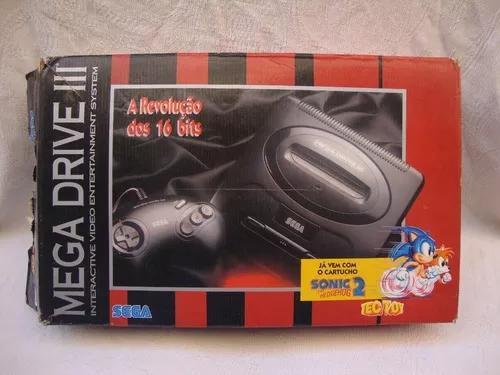 Caixa Vazia Original Do Mega Drive 3 - Detalhes (leia Tudo)