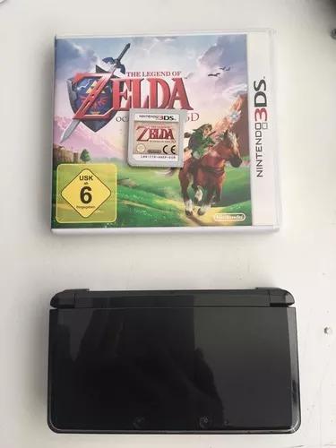 Console Nintendo 3ds Preto Black 16gb + Zelda + Carregador