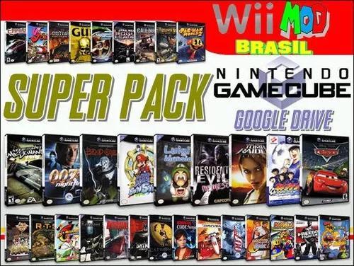 Hd Pra Nintendo Wii Com Jogos De Gamecube E Wii E