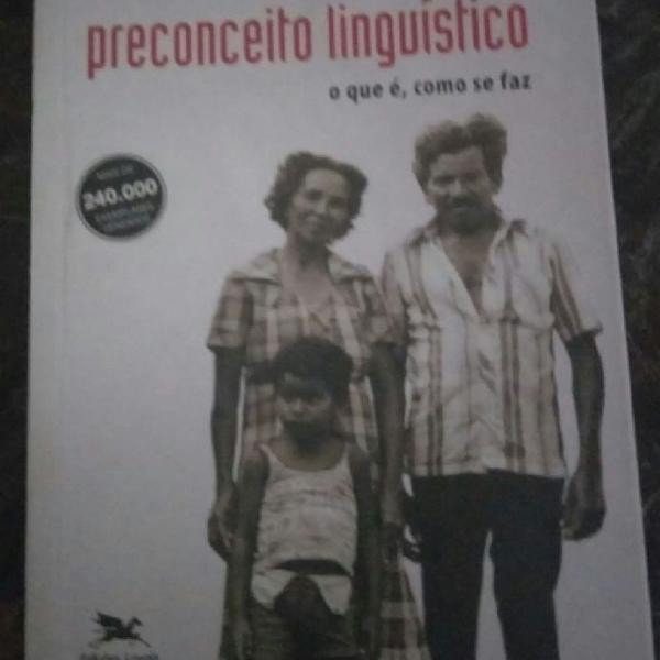Livro Preconceito Linguístico- o que é, como se faz