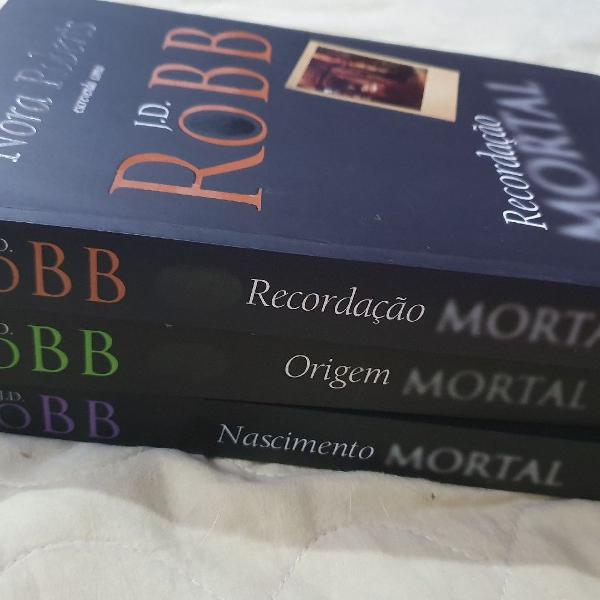 Livros Série Mortal Nora Roberts