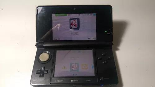 Nintendo 3ds Preto + 2 Jogos