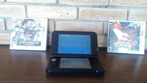 Nintendo 3ds Xl Azul + Fire