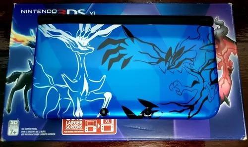 Nintendo 3ds Xl - Edição Limitada Pokémon Xy