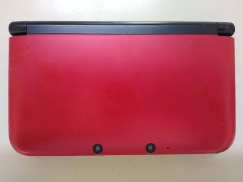 Nintendo Xl 3ds Red, Com Carregador