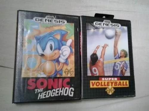 Sonic The Hedgehog Super Volleyball Jogo Sega Genesis