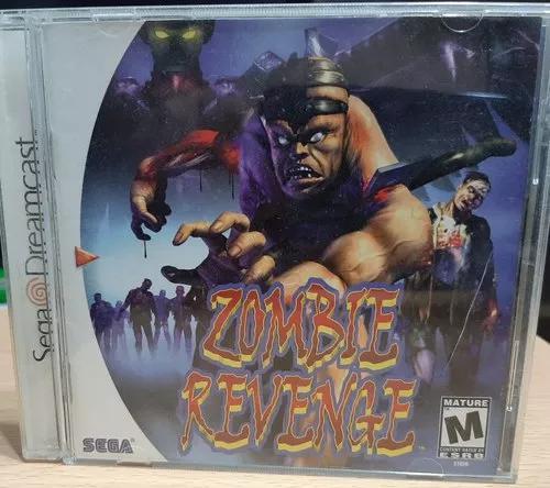 Zombie Revenge Dreamcast Americano Original Raríssimo