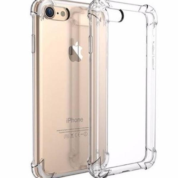 capinha protetora transparente iphone 7 e/ou iphone 8