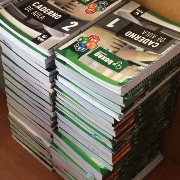 coleção completa hexag medicina