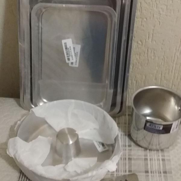 conjunto utensílios para cozinha