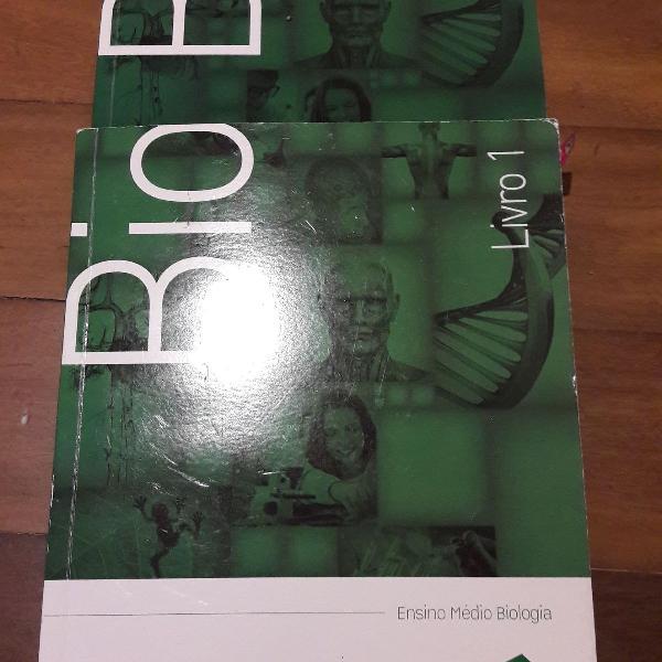 livros biologia poliedro