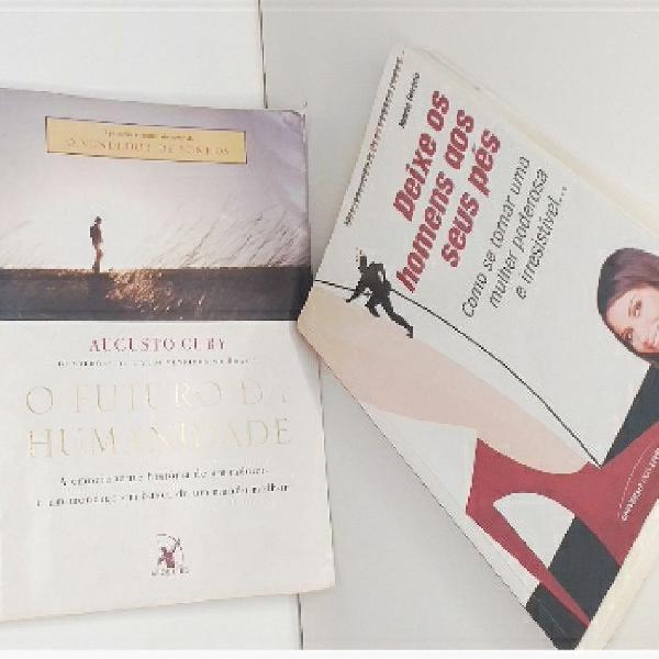 livros ( o futuro da humanidade e deixe os homens aos seus