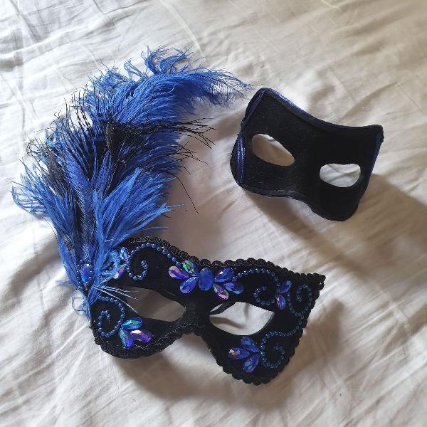 máscara festa super luxo