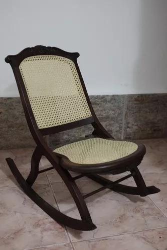 Cadeira De Balanco Antiga