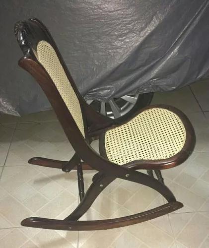 Cadeira De Balanço Antiga Palermo