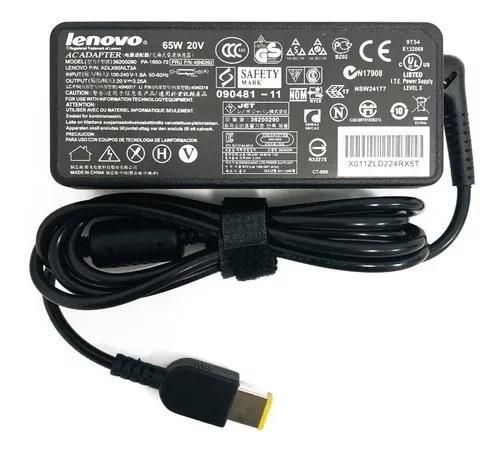 Carregador Notebook Lenovo G400s 20v 3.25a Plug Usb 65w