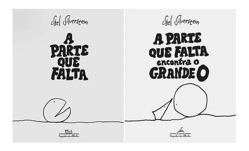 Kit A Parte Que Falta - 2 Livros - Shel Silverstein