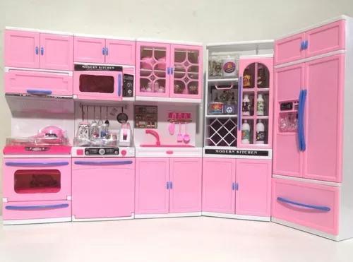 Kit Cozinha Infantil De Brinquedo 5x1 Completa Kitchen