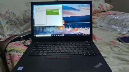Notebook Lenovo T480 I7 8ger 16gb Ssd 1tb Placa De Video 2gb