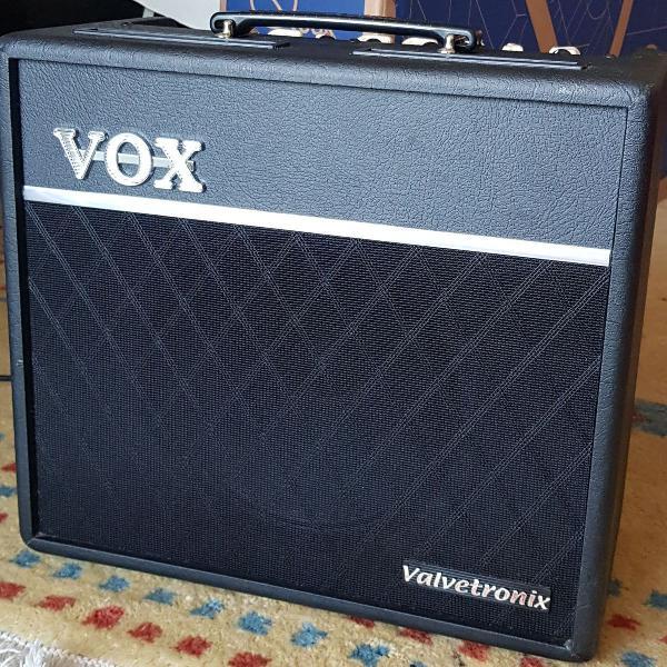 amplificador de guitarra vox valvetronix vt40+