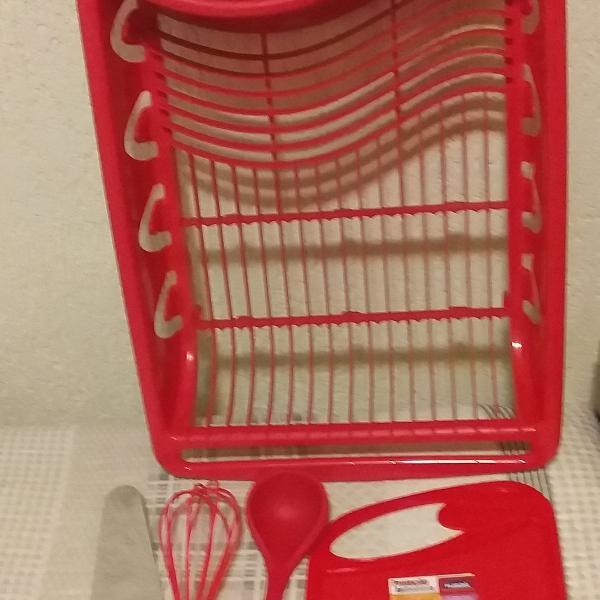 conjunto de utensílios para cozinha