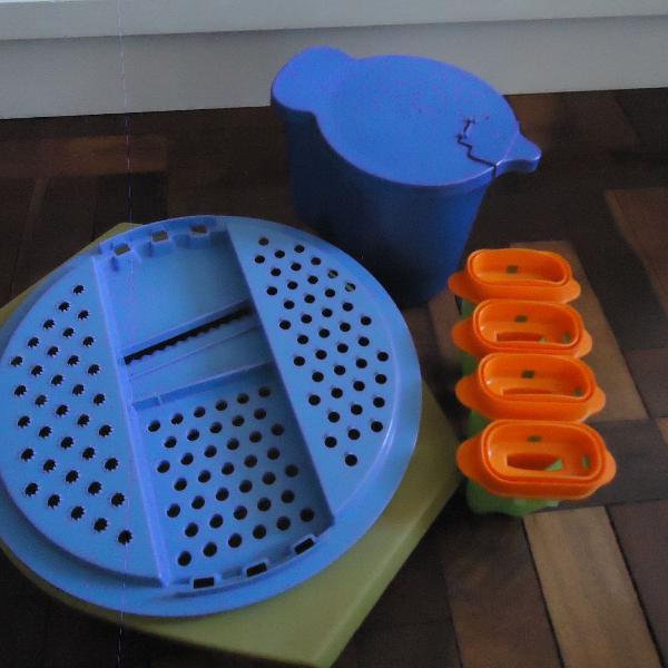 kit 3 itens tupperware usado