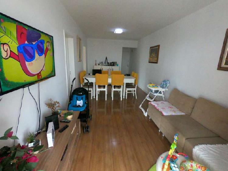 Apartamento para venda tem 88 metros quadrados com 3 quartos